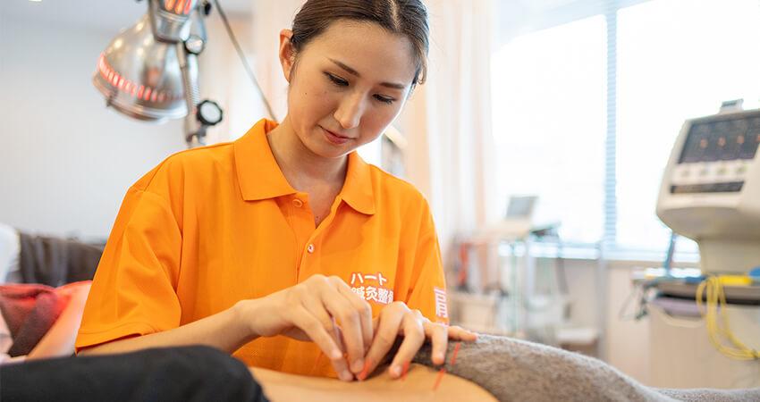 鍼灸施術メインイメージ